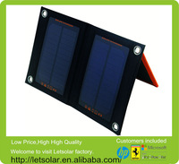 Letsolar 3W Solar pack SP5 Foldable Solar Pack charger plates wholesale rattan