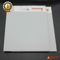 12mm single side wood grain paper laminated MDF cheap wood paneling