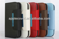 Wallet Design Detachable Case for Samsung Galaxy S 4 i9500
