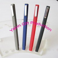 2014 Office simple ball pen advertising pen with logo print