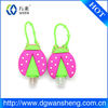 2014 new design cute silicone animal sanitizer holder