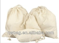 2014 wholesale white cotton dust cover for handbag,cotton dust bag,drawstring dust bag
