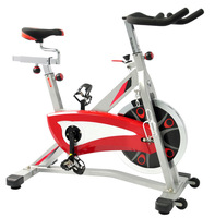 Adult Home Use Exercise Red Chain Cover Spin Bike Routines ES-785