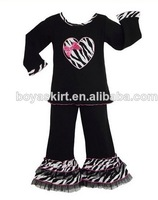 baby toddler clothing black and zebra sets black and zebra 2 ruffle pants boutique outfits retail children clothing