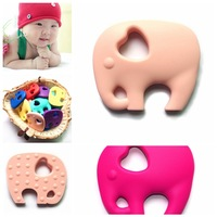 China Supplier New Product 100% Food Grade Silicone Teething Rings Wholesale Manufacturer Made In China