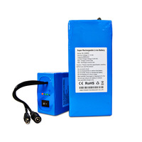 OEM li-ion battery lithium ion batteries 12v 6800mah for LED light/CCTV Camera/POS System/Router/GPS