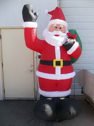 New design hotsell mass air blown christmas inflatable