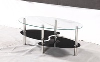 2014 hot selling promotion black and red coffee table