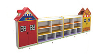 2014 kids wood cabinet for daycare center furniture