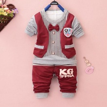 custom made kids cartoon clothing wholesale children's boutique clothing summer clothes for children