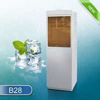 Hot sell white color brown glass door fashion water dispenser
