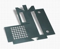 High precision black steel sheet metal
