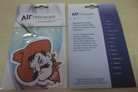 custom paper air freshner