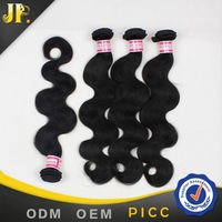 Double weft unprocessed cheap brazilian hair by the bundle