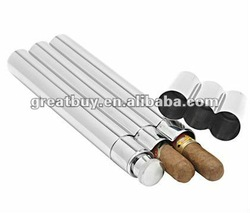 stainless steel cigar tubes flask