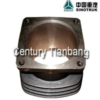SINOTRUK HOWO and STEYR tractor,cargo and dump truck parts: HOWO ENGINE ACCESSORIES -- CYLINDER BODY