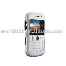 Smart Silicon case for blackberry 9000 bold with keypad protector(silver)