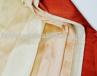 Organza with lines curtain fabric