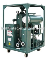 ZL vacuum lubricating oil purification machine/ hydraulic oil purifier