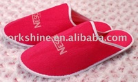 cotton fabric Slipper for 5 star hotel guest yangzhou china