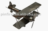 Rare-Vintage-Mechanical-Antique-Fine-Art-Iron-Plane/Plane Model