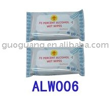 Isopropyl Alcohol Swabs, 75% isopropyl Alcohol, + Aloe and Lanolin Added in Display Box-10pcs/box