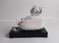 imitate marble stone sculpture,with resin, home decoration