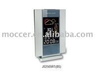 Color screen weather station