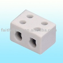 Factory outlet --- 15A 2 wires porcelain terminal block