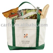 2011 new family-size canvas shopping bag