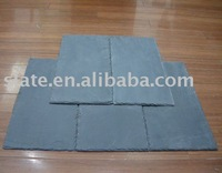 blue black color slate roof