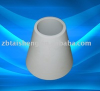 Alumina ceramic tapered tube with wear resistance