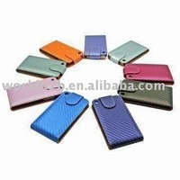 Carbon Leather Skin Case Cover for iPod touch 4/4G