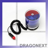 Car Vehicles Red & Blue Police Beacon Rotating Flashing Strobe Warning LED Lights For Emergency & Party