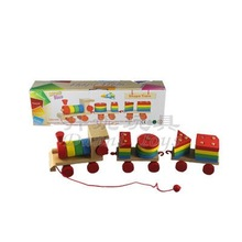 Shape Train & Wooden Toy for Kids & Children