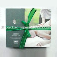 ribbon essential oil packaging boxes
