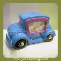 Polyresin Car Money box with Photo Frame