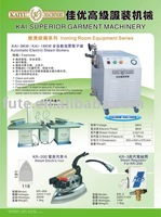 KR-200 Electric Steam Iron in garment machinery used for different clothes