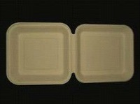 Disposable biodegradable food container