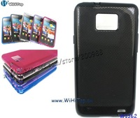 Black Color. Anti Slip Design TPU Case For Samsung Galaxy s2 i9100