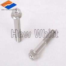 Titanium bolt for motorcycle
