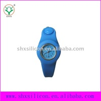 2011 fashion new stylish blue rubber watch