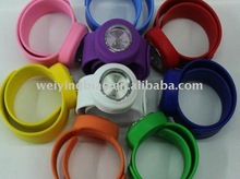 High quality silicone adult slap watch 2012