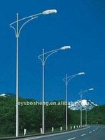 electric highway light poles