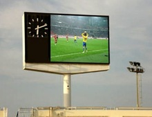 P10mm outdoor full color big tv advertising screen