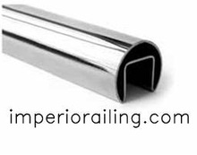 Stainless Steel Round Slot Tube
