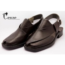 Top quality Peshawari Chappal pair Leather Pashto pashton sandals Pathan tribal shoes