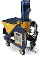 PS 40 plastering machine for gypsum plasters and ready dry mixed