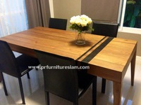 Dining teak table