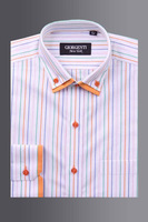 Mens Fashion shirts with double short collars